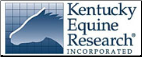 Kentucky Equine Research Products Home Page
